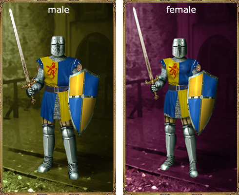 French chevalier Armor set.png